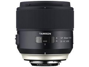 TAMRON AFF012C-700 SP 35mm F/1.8 Di VC USD Lens - Canon Mount, Black