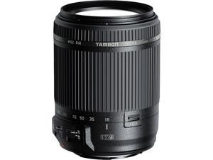 TAMRON AFB018C-700 18-200mm Di II VC All-In-One Zoom Lens - Canon Mount, Black