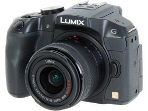Panasonic LUMIX DMC-G6KK Black Digital Single Lens Mirrorless camera with 14-42 II Kit Lens