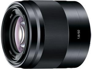 SONY SEL50F18/B 50mm F1.8 OSS Lens Black