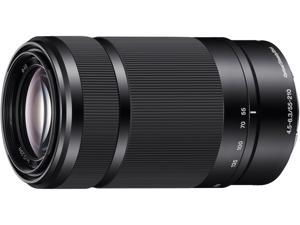 SONY SEL55210/B 55-210mm f/4.5-6.3 Telephoto Lens Black