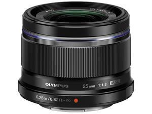 OLYMPUS V311060BU000 M.ZUIKO 25mm f1.8 Lens Black