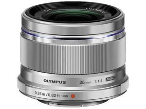 OLYMPUS V311060SU000 M.ZUIKO 25mm f1.8 Lens Silver