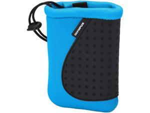 OLYMPUS 202386 Blue Neoprene Silicon Soft Pouch for Camera