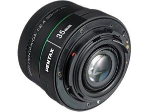 PENTAX 21987 DA 35mm F2.4 AL Lens Black