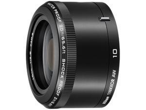 Nikon 3361 1 NIKKOR AW 10mm f/2.8 Lens Black