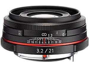 PENTAX 21410 DA 21mm F3.2 AL Limited Lens Black
