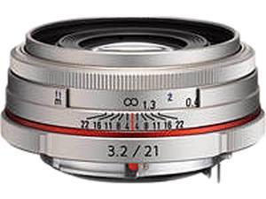 PENTAX 21420 DA 21mm F3.2 AL Limited Lens Silver