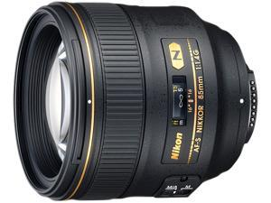 Nikon 2195 AF-S NIKKOR 85mm f/1.4G Lens Black