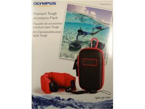 OLYMPUS V600067BW010 ylon Hard Case with Floating Handstrap
