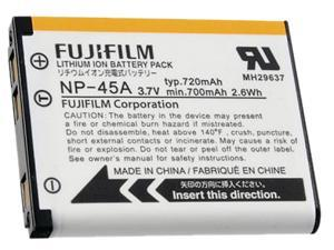 FUJIFILM NP-45A (16074132) 1-Pack 3.7V 700mAh Li-Ion Digital Camera Battery