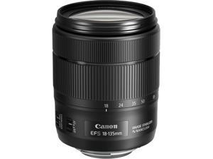 Canon 1276C002 EF-S 18-135mm f/3.5-5.6 IS USM Lens Black