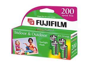 FUJIFILM 15717646 ISO 200 96 EXP Color Film