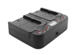 Accessory Power Charger ECH-DUALION-LPE5 Professional Series for Canon LP-E5 Batteries