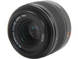 Panasonic H-X025 Compact ILC Lenses Lumix G Micro 4/3 LEICA DG SUMMILUX 25mm/F1.4 ASPH. Lens Black