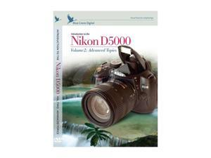 Blue Crane Digital NBC127 Training DVD - Introduction to the Nikon D5000 (Volume 2: Advanced Topics)