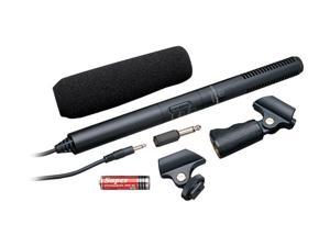 Audio-Technica ATR6550 Black Condenser Shotgun Microphone