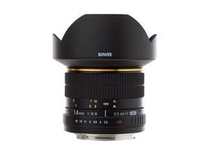 Bower SLY1428N Ultra Wide-Angle 14mm f/2.8 Fisheye Lens for Nikon