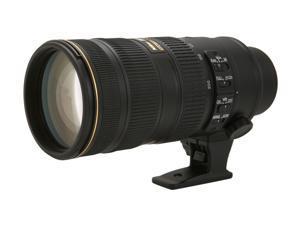 Nikon 2185 SLR Lenses AF-S NIKKOR 70-200mm f/2.8G ED VR II Lens Black