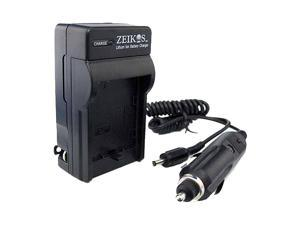 ZEIKOS ZE-CH511 Rapid Travel Charger for Canon BP511