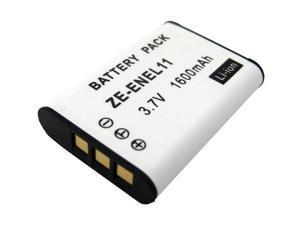 ZEIKOS ZE-ENEL11 1600mAh Li-Ion Replacement Battery for NIKON EN-EL11 and PENTAX D-LI78