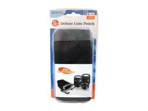 "ZEIKOS ZE-LP5 Black 5"" High Quality Soft Pouch"