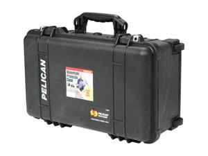 PELICAN 1510-004-110 Black 1510 Carry On Case with Padded Dividers