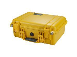 PELICAN 1450-000-240 Yellow Medium Hardware and Accessory Case