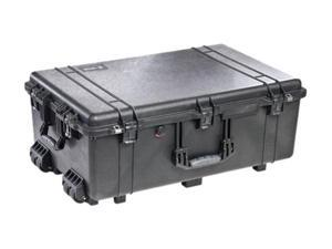 PELICAN 1650-021-110 Black Large Rolling Hardware And Accessory Case Without Foam