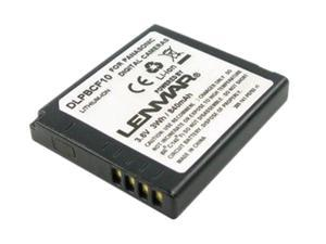 LENMAR DLPBCF10 840mAh Li-Ion Replacement Battery for Panasonic DMW-BCF10