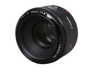 Canon 2514A002 SLR Lenses EF 50mm f/1.8 II Standard & Medium Telephoto Lens Black