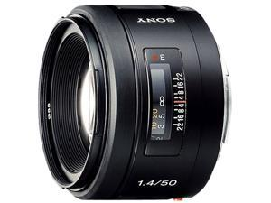 SONY 50mm f/1.4 Lens Black