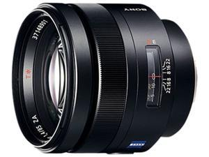 SONY SAL-85F14Z Carl Zeiss Planar T 85mm f1.4 Telephoto Lens Black