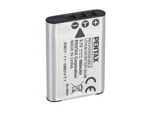 PENTAX D-LI78 680 mAh 3.7V Li-Ion Rechargeable Battery