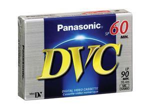 Panasonic AY-DVM60EJ 60-minute DVC (Mini DV) Tape