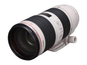 Canon 2751B002 SLR Lenses EF 70-200mm f/2.8L IS II USM Telephoto Zoom Lens Black