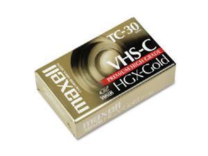 maxell 203010 High Grade VHS-C Videocassette
