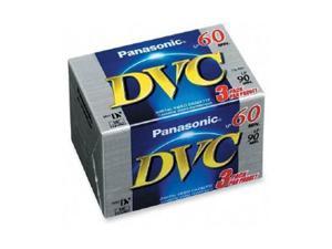 Panasonic AY-DVM60EJ3P Mini DV Cassette