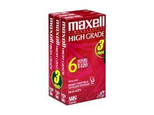 maxell 224939 Premium High Grade VHS Videocassette
