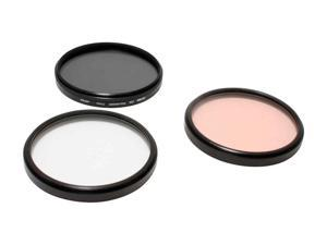TIFFEN 77TPK1 77mm Basic 3 Filter Kit - UVP, 812, Circular Polarizer