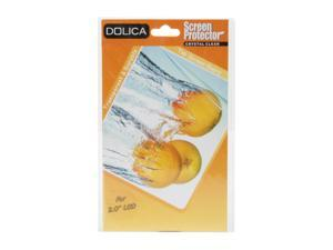 """DOLICA LCDPRO20 LCD Screen Protector for 2.0"""" Screen w/ LCD cleaning cloth"""