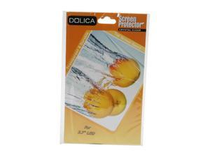 "DOLICA LCDPRO27 LCD Screen Protector for 2.7"" Screen w/ LCD cleaning cloth"