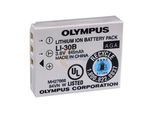 OLYMPUS Li-30B 645mAh 3.6V Li-Ion Digital Camera Battery