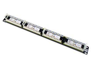TRENDnet 24-Port Cat6 Unshielded Rackmount Patch Panel, TC-P24C6