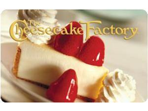 Cheesecake Factory $ 50 Gift Card (Email Delivery)