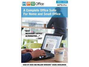 WPS Office 10 Business Edition 1 PCs / 1 Year + Total Defense Antivirus - 1 Device for Free
