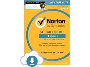 Symantec Norton Security - 3 Device + Utilities Bundle - Download