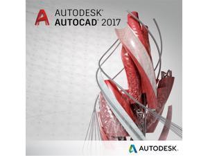 Autodesk AutoCAD 2017 - New Subscription (annual)