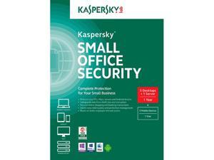 Kaspersky Small Office Security - 5 Desktops + 1 Server