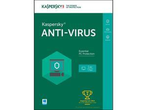 Kaspersky Anti-Virus 1 User 1 Year - Download